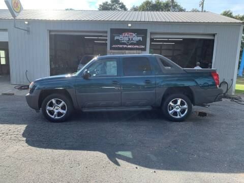 2005 Chevrolet Avalanche for sale at Jack Foster Used Cars LLC in Honea Path SC