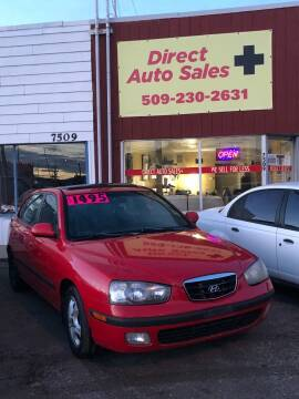 2003 Hyundai Elantra for sale at Direct Auto Sales+ in Spokane Valley WA