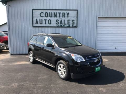 2015 Chevrolet Equinox for sale at COUNTRY AUTO SALES LLC in Greenville OH