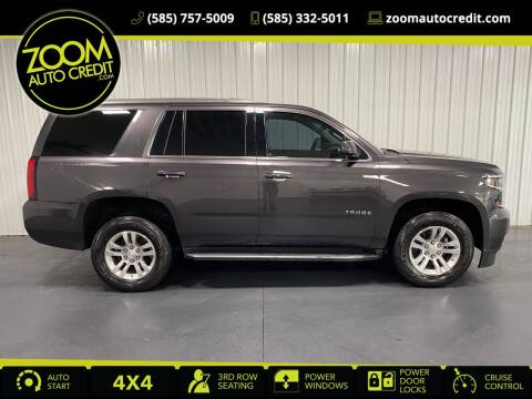 2018 Chevrolet Tahoe for sale at ZoomAutoCredit.com in Elba NY