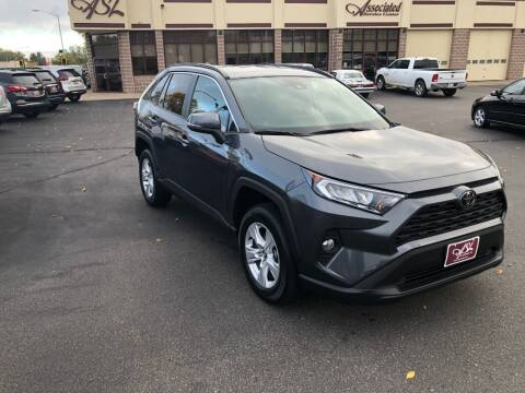 2020 Toyota RAV4 for sale at ASSOCIATED SALES & LEASING in Marshfield WI
