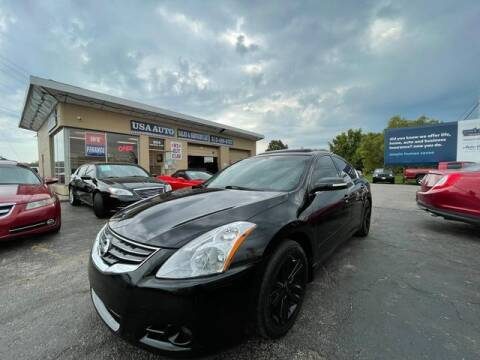 2012 Nissan Altima for sale at USA Auto Sales & Services, LLC in Mason OH
