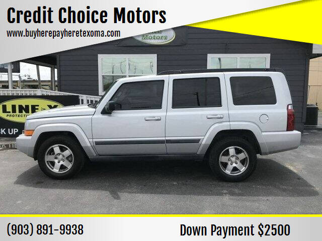 2009 Jeep Commander for sale at Credit Choice Motors in Sherman TX