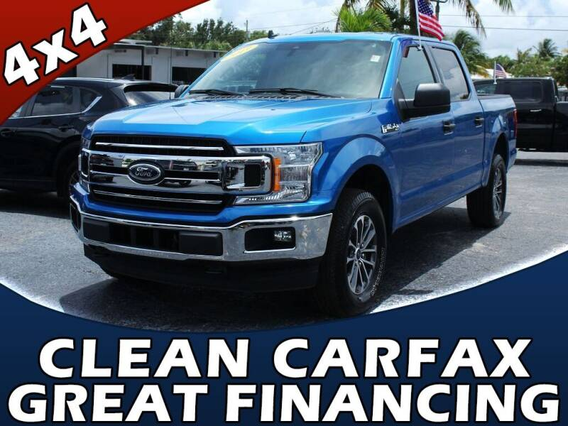 2019 Ford F-150 for sale at Palm Beach Auto Wholesale in Lake Park FL