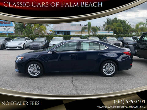 2014 Lexus ES 350 for sale at Classic Cars of Palm Beach in Jupiter FL