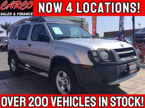 2004 Nissan Xterra for sale at CARCO SALES & FINANCE #3 in Chula Vista CA