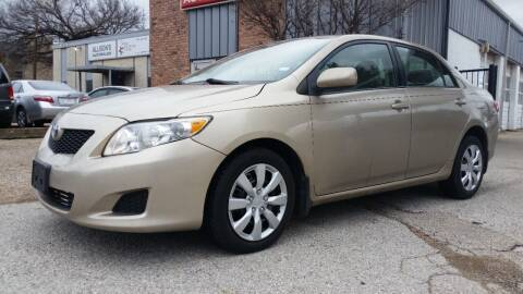 2009 Toyota Corolla for sale at Allison's AutoSales in Plano TX