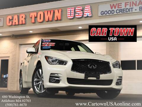 2017 Infiniti Q50 for sale at Car Town USA in Attleboro MA