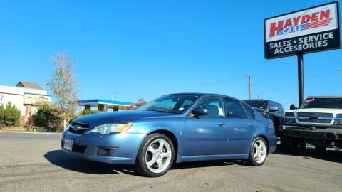 2008 Subaru Legacy for sale at Hayden Cars in Coeur D Alene ID