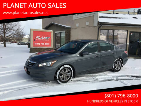 2012 Honda Accord for sale at PLANET AUTO SALES in Lindon UT