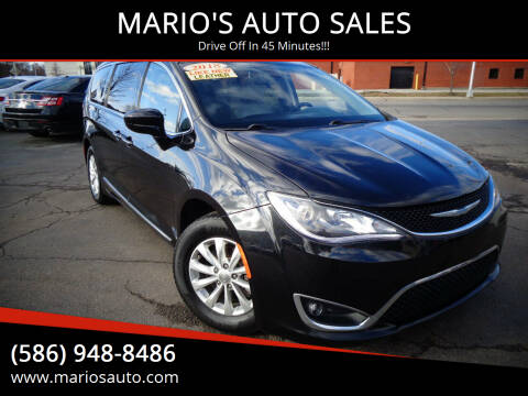 2018 Chrysler Pacifica for sale at MARIO'S AUTO SALES in Mount Clemens MI