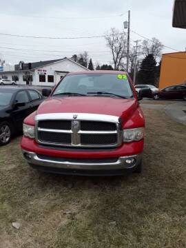 2002 Dodge Ram Pickup 1500 for sale at Fansy Cars in Mount Morris MI