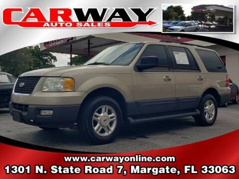 2006 Ford Expedition for sale at CARWAY Auto Sales in Margate FL