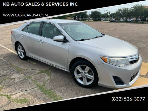 2014 Toyota Camry for sale at KB AUTO SALES & SERVICES INC in Houston TX