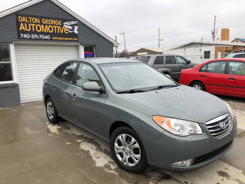 2010 Hyundai Elantra for sale at Dalton George Automotive in Marietta OH