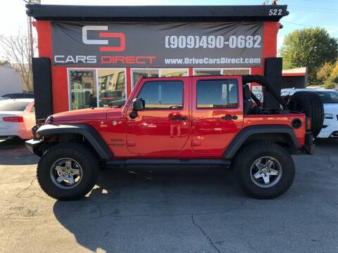 2014 Jeep Wrangler Unlimited for sale at Cars Direct in Ontario CA