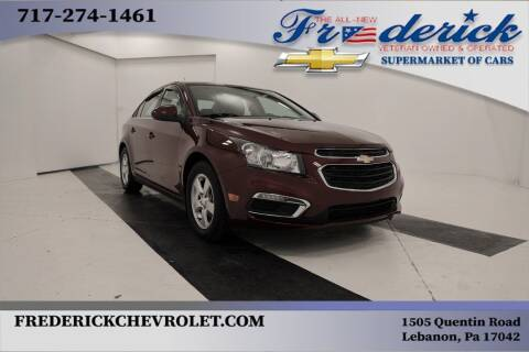 2016 Chevrolet Cruze Limited for sale at Lancaster Pre-Owned in Lancaster PA