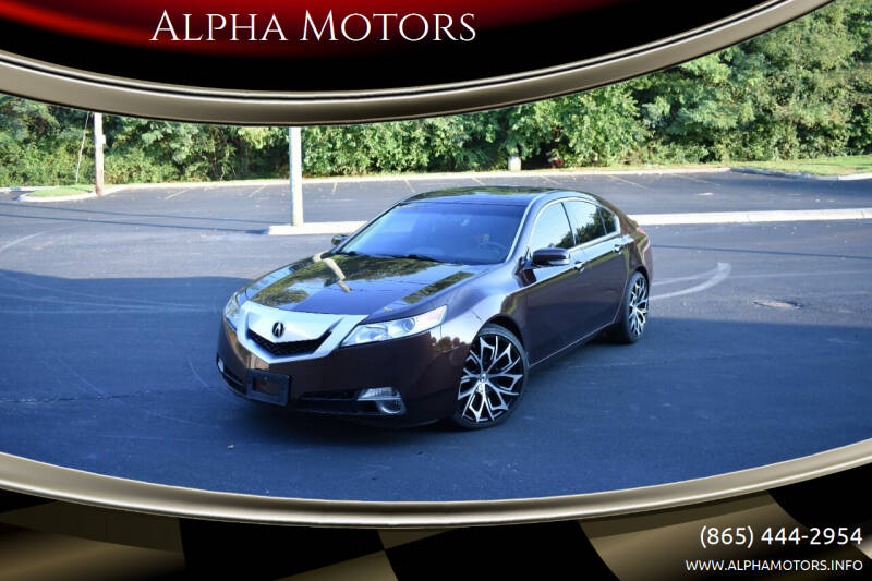 2010 Acura TL for sale at Alpha Motors in Knoxville TN