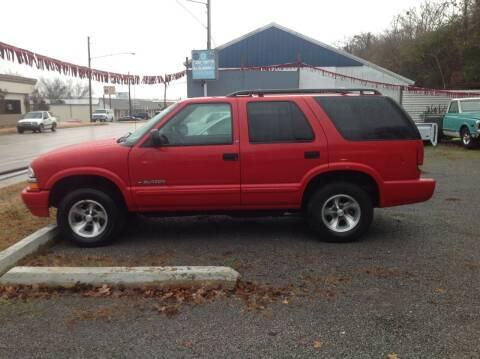 2002 Chevrolet Blazer for sale at GIB'S AUTO SALES in Tahlequah OK
