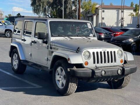 2007 Jeep Wrangler Unlimited for sale at Brown & Brown Wholesale in Mesa AZ
