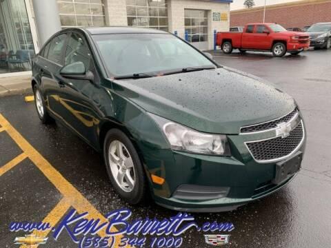 2014 Chevrolet Cruze for sale at KEN BARRETT CHEVROLET CADILLAC in Batavia NY