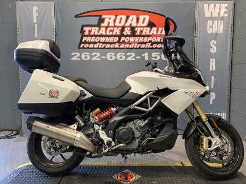 2015 Aprilia Caponord 1200 ABS Travel Pack for sale at Road Track and Trail in Big Bend WI