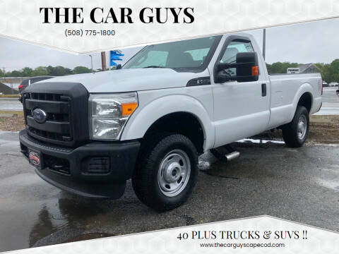 2013 Ford F-250 Super Duty for sale at The Car Guys in Hyannis MA
