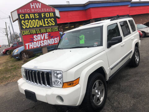 2010 Jeep Commander for sale at HW Auto Wholesale in Norfolk VA