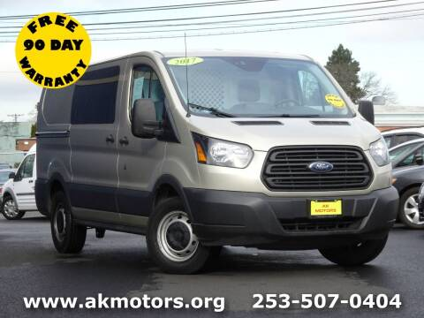 2017 Ford Transit Cargo for sale at AK Motors in Tacoma WA