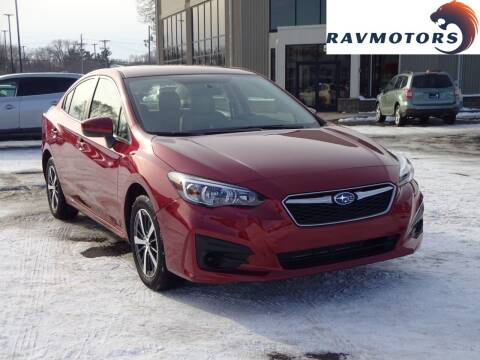 2019 Subaru Impreza for sale at RAVMOTORS 2 in Crystal MN