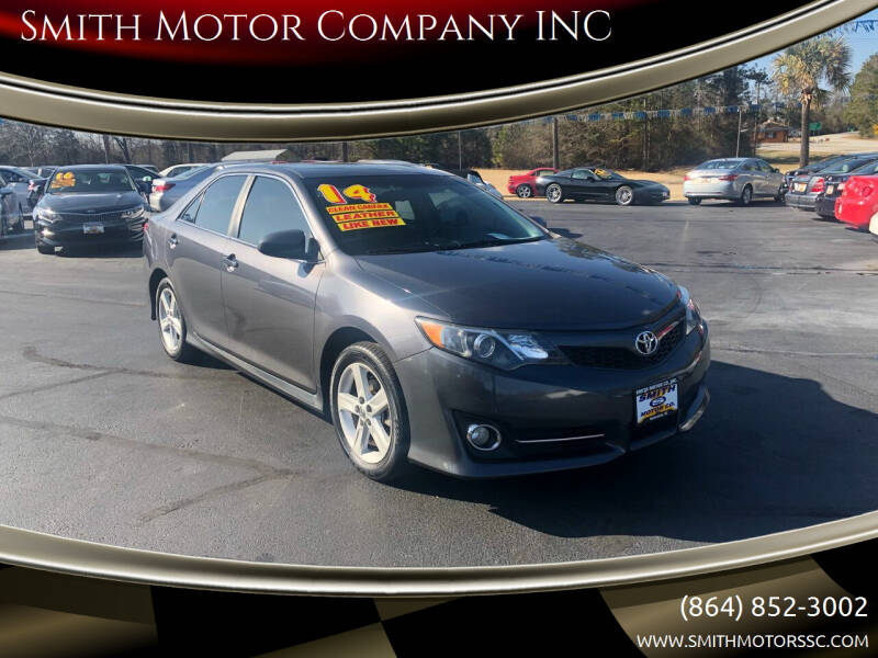2014 Toyota Camry for sale at Smith Motor Company INC in Mc Cormick SC