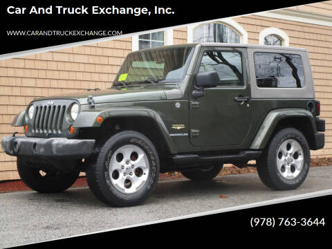 2007 Jeep Wrangler for sale at Car and Truck Exchange, Inc. in Rowley MA