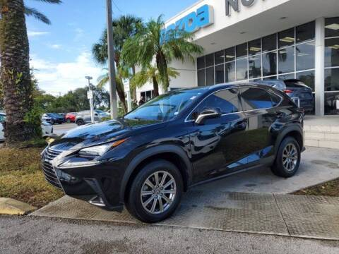 2018 Lexus NX 300 for sale at Mazda of North Miami in Miami FL