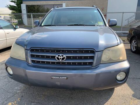 2003 Toyota Highlander for sale at JerseyMotorsInc.com in Teterboro NJ