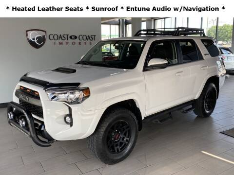 2019 Toyota 4Runner for sale at Coast to Coast Imports in Fishers IN