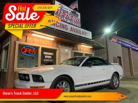 2007 Ford Mustang for sale at Oscar's Truck Center, LLC in Houston TX