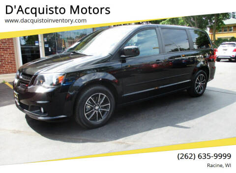 2015 Dodge Grand Caravan for sale at D'Acquisto Motors in Racine WI