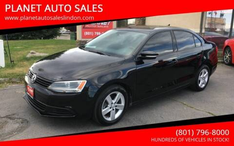 2011 Volkswagen Jetta for sale at PLANET AUTO SALES in Lindon UT