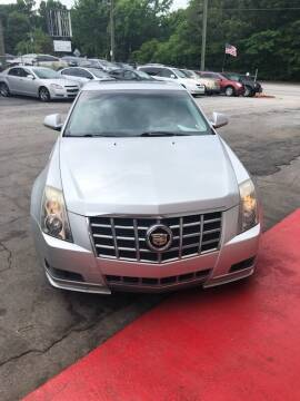 2012 Cadillac CTS for sale at LAKE CITY AUTO SALES in Forest Park GA