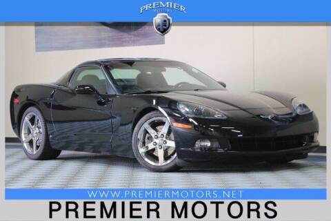 2008 Chevrolet Corvette for sale at Premier Motors in Hayward CA