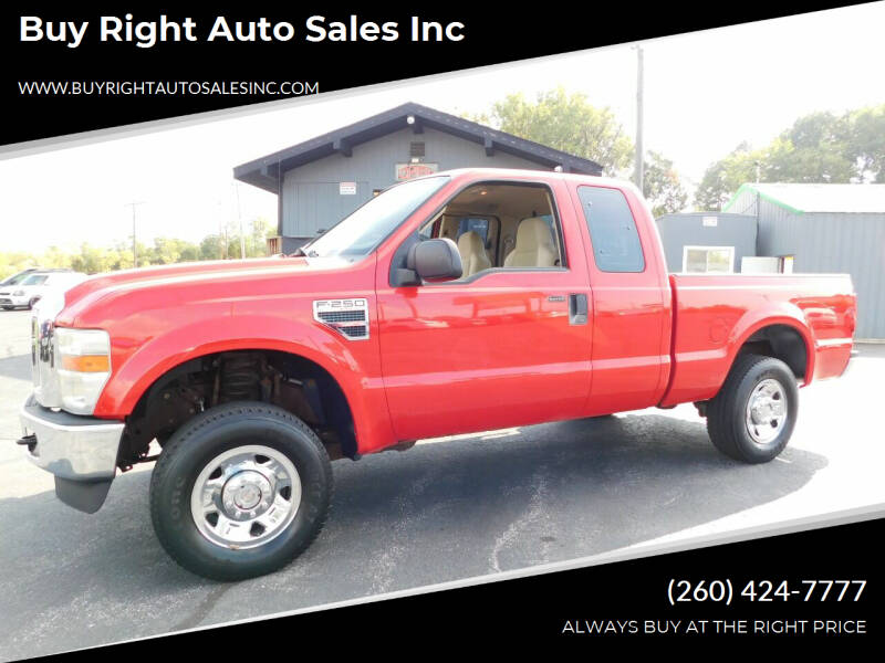 2008 Ford F-250 Super Duty for sale at Buy Right Auto Sales Inc in Fort Wayne IN