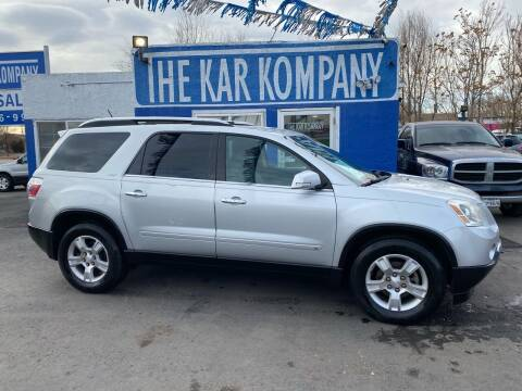 2009 GMC Acadia for sale at The Kar Kompany Inc. in Denver CO