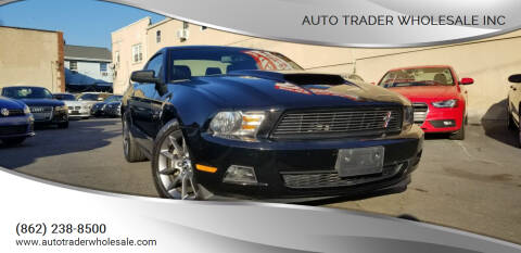 2012 Ford Mustang for sale at Auto Trader Wholesale Inc in Saddle Brook NJ