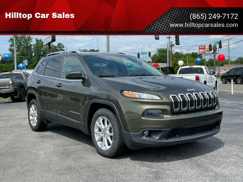 2016 Jeep Cherokee for sale at Hilltop Car Sales in Knoxville TN