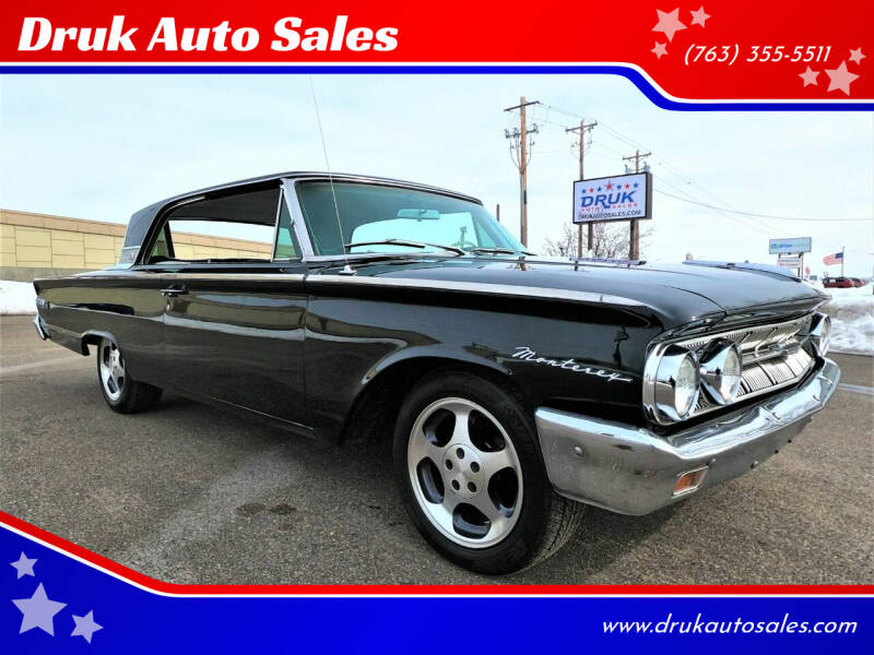 1963 Mercury Monterey for sale at Druk Auto Sales in Ramsey MN