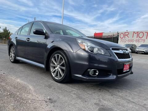 2013 Subaru Legacy for sale at Boktor Motors in Las Vegas NV