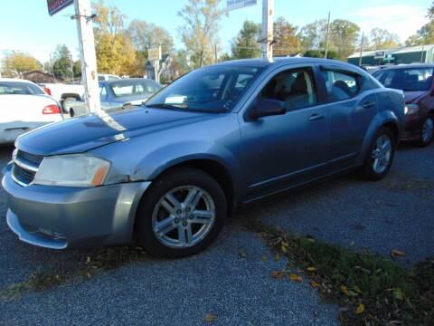 2008 Dodge Avenger for sale at New Start Motors LLC in Montezuma IN
