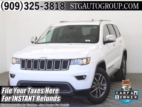 2020 Jeep Grand Cherokee for sale at STG Auto Group in Montclair CA