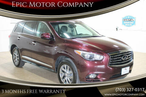 2014 Infiniti QX60 for sale at Epic Motor Company in Chantilly VA