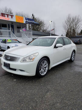 2007 Infiniti G35 for sale at Leavitt Auto Sales and Used Car City in Everett WA